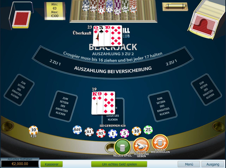 Blackjack gewinnchancen kalkulieren sie ihre blackjack for Tabelle blackjack